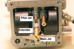 Main Jet dan Pilot Jet karburator