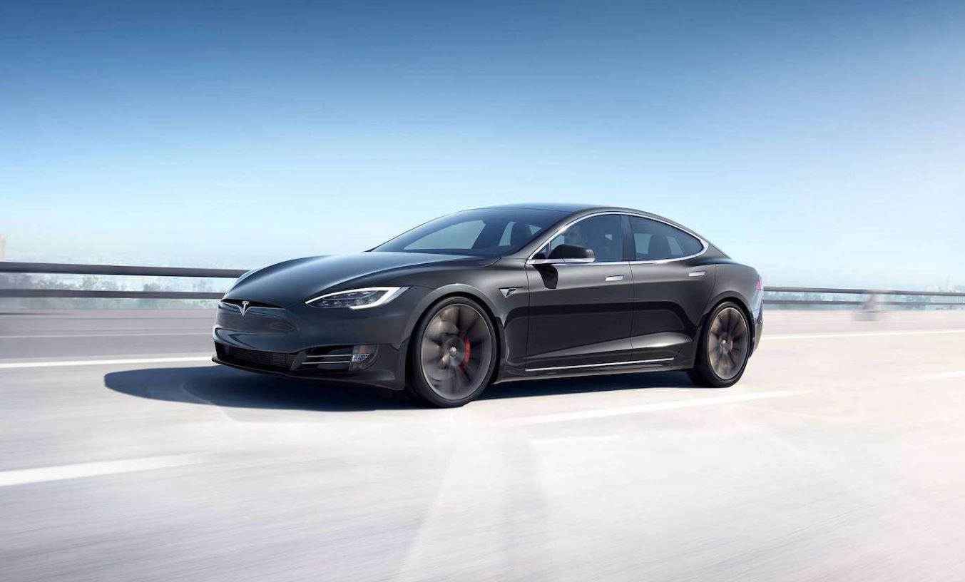 Tesla model S made in China