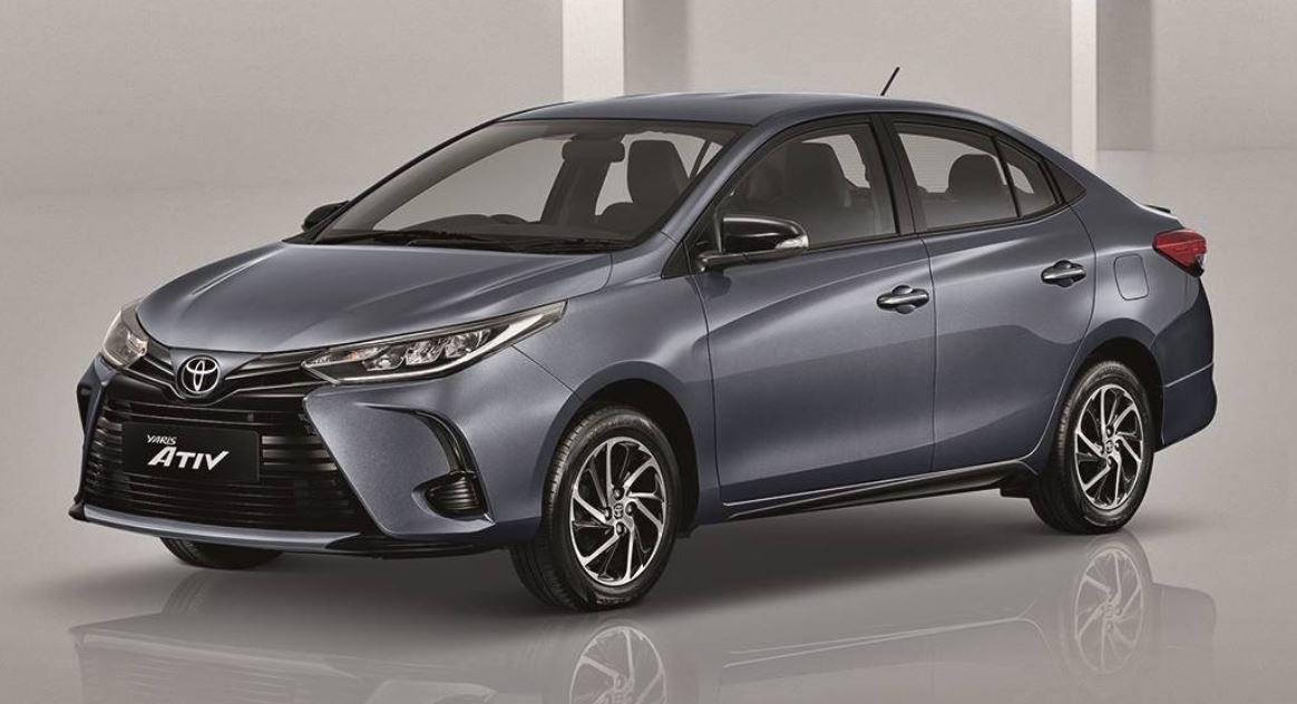Toyota Vios 2020 biru